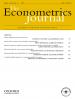 The Econometrics Journal
